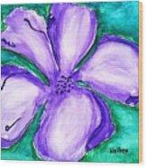 Fabulous Flower Wood Print