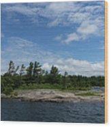 Fabulous Northern Summer - Georgian Bay Island Landscape Wood Print
