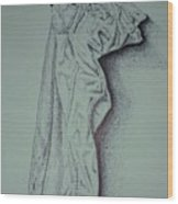 Fac Fidelis Wood Print