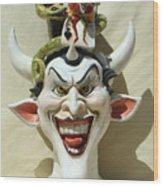 Face Jug Jokula Wood Print