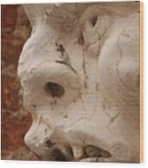 Face On San Trovaso Bell Tower Wood Print