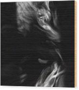 Faces In Smoke 1235 Wood Print