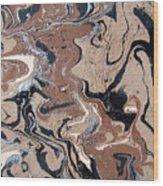 Faces Of Delirium Wood Print