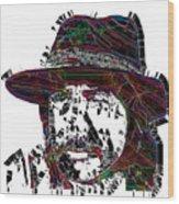 Faces Of Life 18 Charles Bronson Wood Print