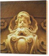 Faces Of Prague 12 Wood Print