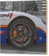 Factory Five Racing Car Wood Print