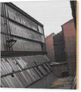 Factory Windows 3 Wood Print