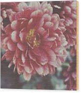 Faded Florals Wood Print