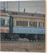 Faded Glory - B And O Railroad Car Wood Print