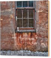 Faded Over Time Wood Print by Christopher Holmes