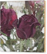 Faded Rose 2 Wood Print