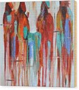 Fading Away 2 Wood Print