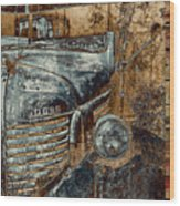 Fading Dodge Wood Print