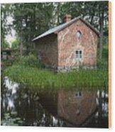 Fagervik Gard 1 Wood Print