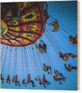 Fair Chair Swinger Wood Print