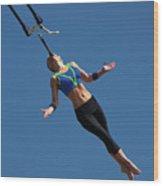 Fair Stunt Wood Print