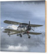 Fairey Swordfish II Ls326 Wood Print