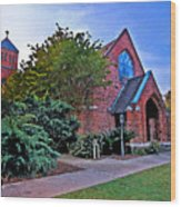 Fairhope Alabama Methodist Church Wood Print