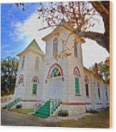 Fairhope Zion Church Wood Print