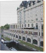 Fairmont Chateau Laurier - Ottawa Wood Print