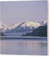 Fairweather Mountain Range Alaska Wood Print