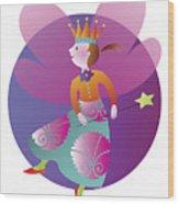 Fairy 1 Wood Print