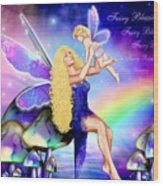 Fairy Blessing Wood Print