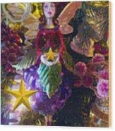Fairy Dust Christmas Wood Print