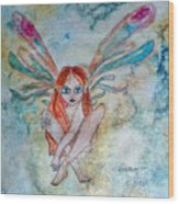 Fairy Dust Wood Print