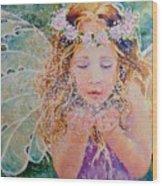 Fairy Dust Wood Print