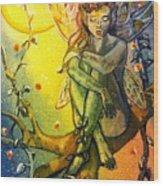 Fairy Elves Wood Print