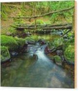 Fairy Glen Bridge Wood Print