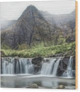 Fairy Pools - Isle Of Skye Wood Print