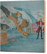 fairy tale H.C. Andersen Wood Print