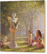 Fairy Tales  Wood Print by Greg Olsen