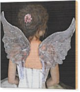 Fairy Wings Wood Print