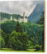 Fairytale Castle Neuschwanstein  Wood Print