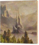 Fairytale Castle Wood Print