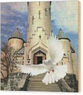 Faith Angel Wood Print