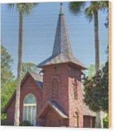 Faith Chapel Wood Print