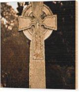 Faithful Until Death Wood Print