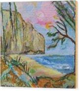 Falaise Wood Print