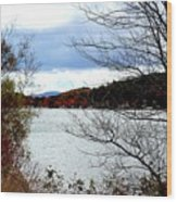 Fall 2015 Newfound Lake 1 Wood Print