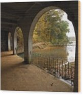 Fall Arches Wood Print