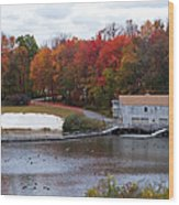 Fall At Schooley's Mountain Wood Print