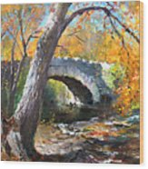 Fall At Three Sisters Islands Wood Print