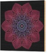 Fall Blossom Zxk-10-43 Wood Print