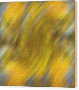 Fall Colors Abstract Wood Print