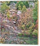 Fall Colors In Depth Wood Print