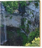 Fall Creek Falls Wood Print